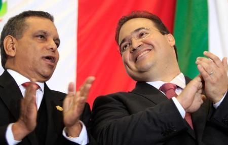 Fidel Herrera y Javier Duarte FOTO: WEB